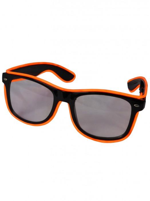 LED-Brille Orange