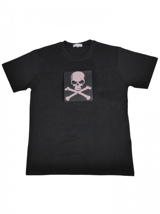 Ultimatives LED T-Shirt (Männer) mit EL Panel Motiv Piratenflagge