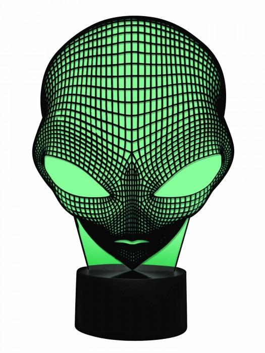 3D Lampe Alien