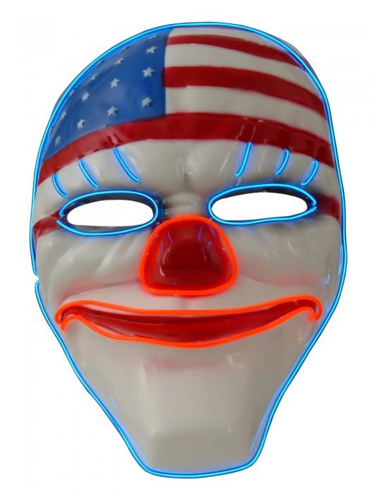 blinkende Maske