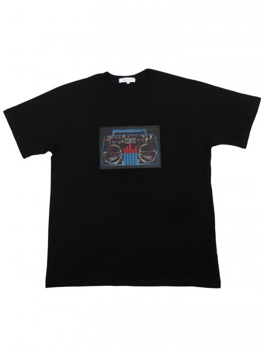 LED T-Shirt Musikbox