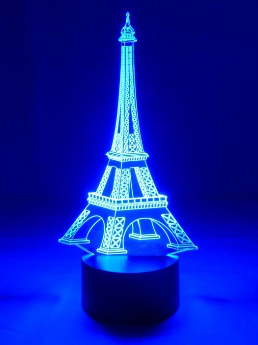 3D Lampe Eiffelturm