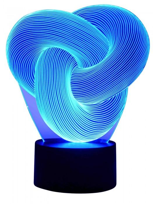 3D LED Lampe