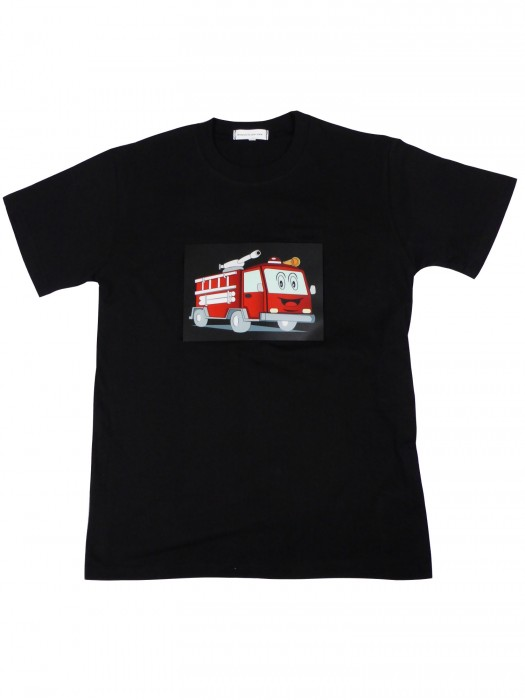LED T-Shirt Feuerwehr