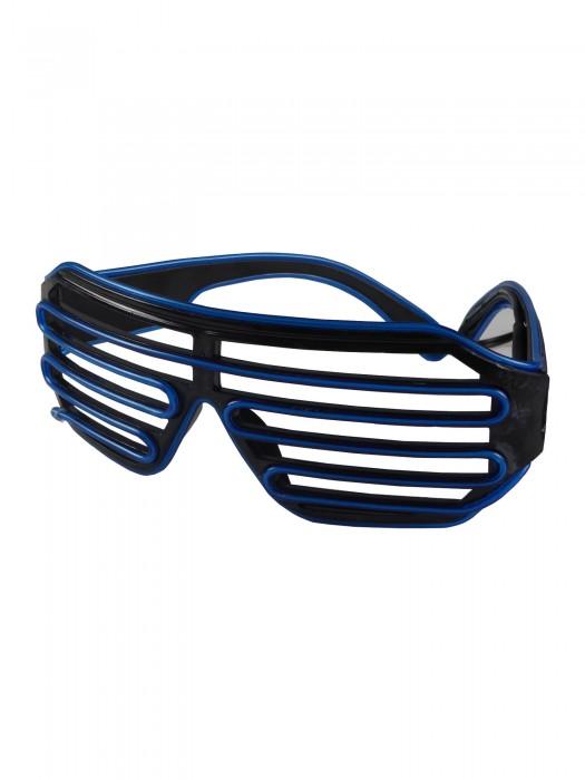 LED-Rasterbrille Blau