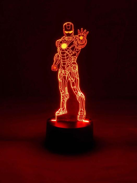3D Tischlampe Iron Man