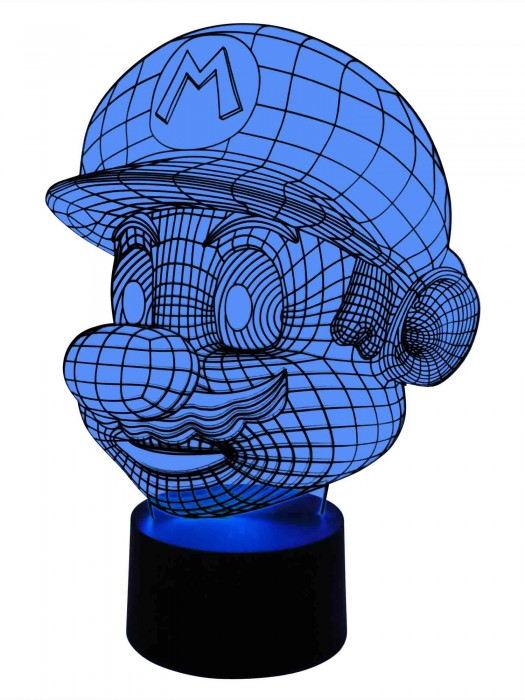 originelle 3D LED-Lampe