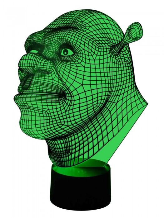 originelle 3D LED Lampe