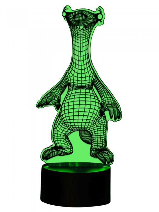 Sid als 3D Lampe