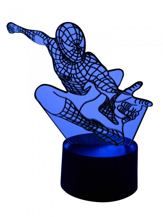 3D Led-Lampe Spiderman