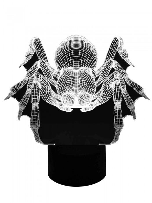 3D Lampe Spinne