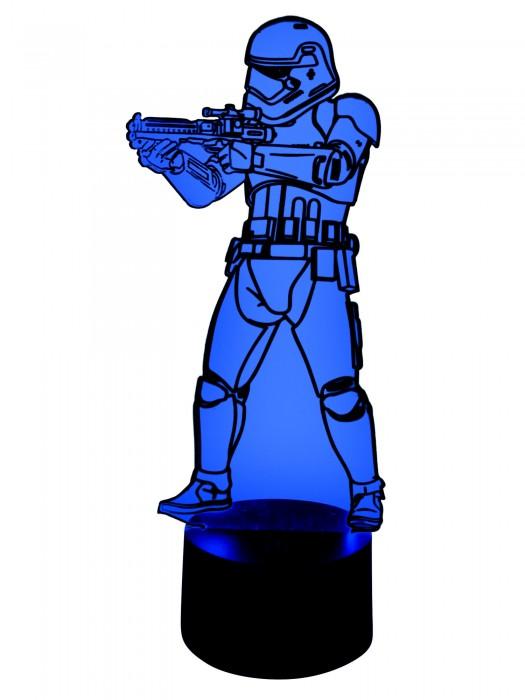 3D LED Lampe Stormtrooper