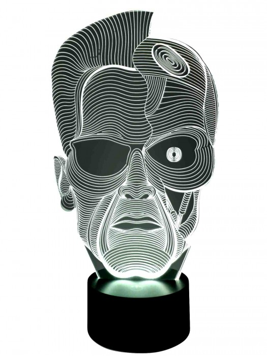 3 D Lampe Terminator