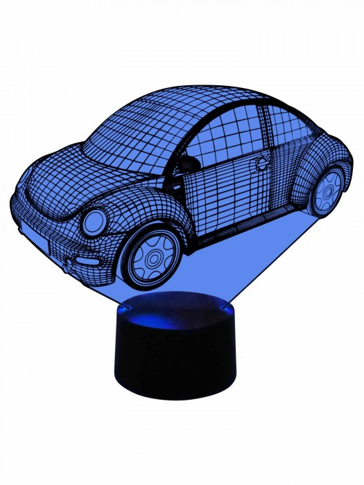 originelle LED Lampe VW Beetle