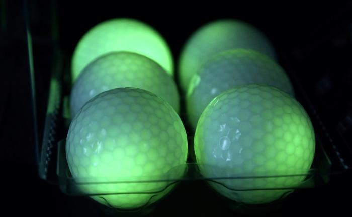 LED-Golfball Grün