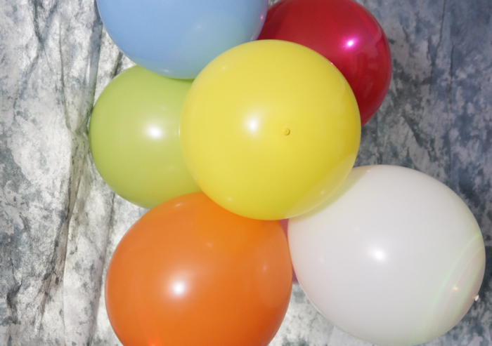 Led Lufballons in den Farben Weiss, Blau, Rot, Grün, Orange, Lila , Weiß