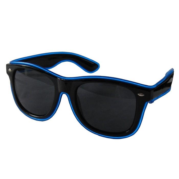 LED-Partybrille Blau