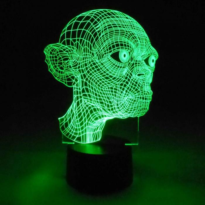 3D Lampe Gollum