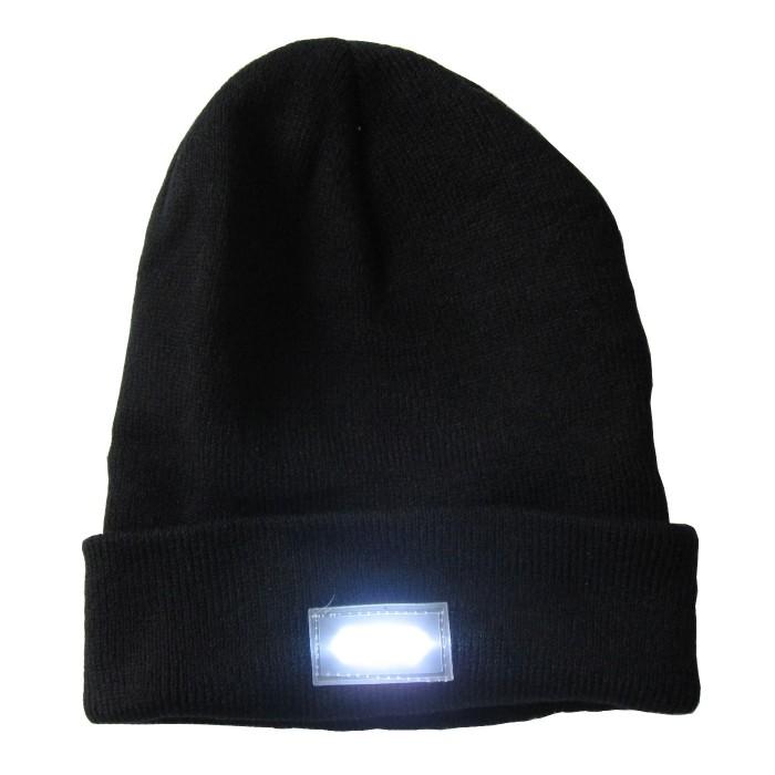 Mütze LED schwarz
