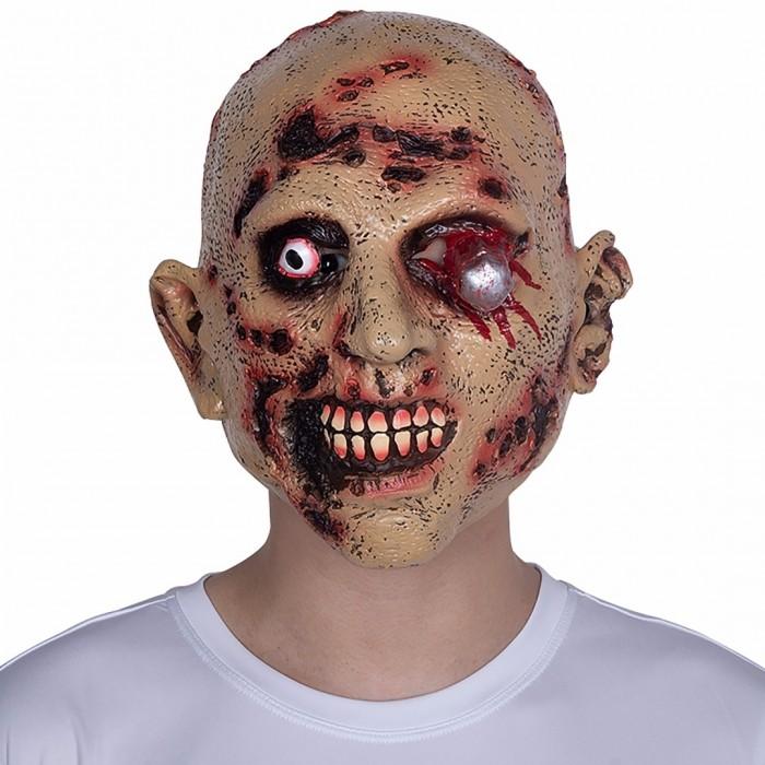 Halloween Karneval Maske Narbengesicht