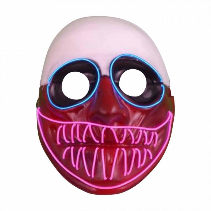 Halloween Led Leucht-Maske