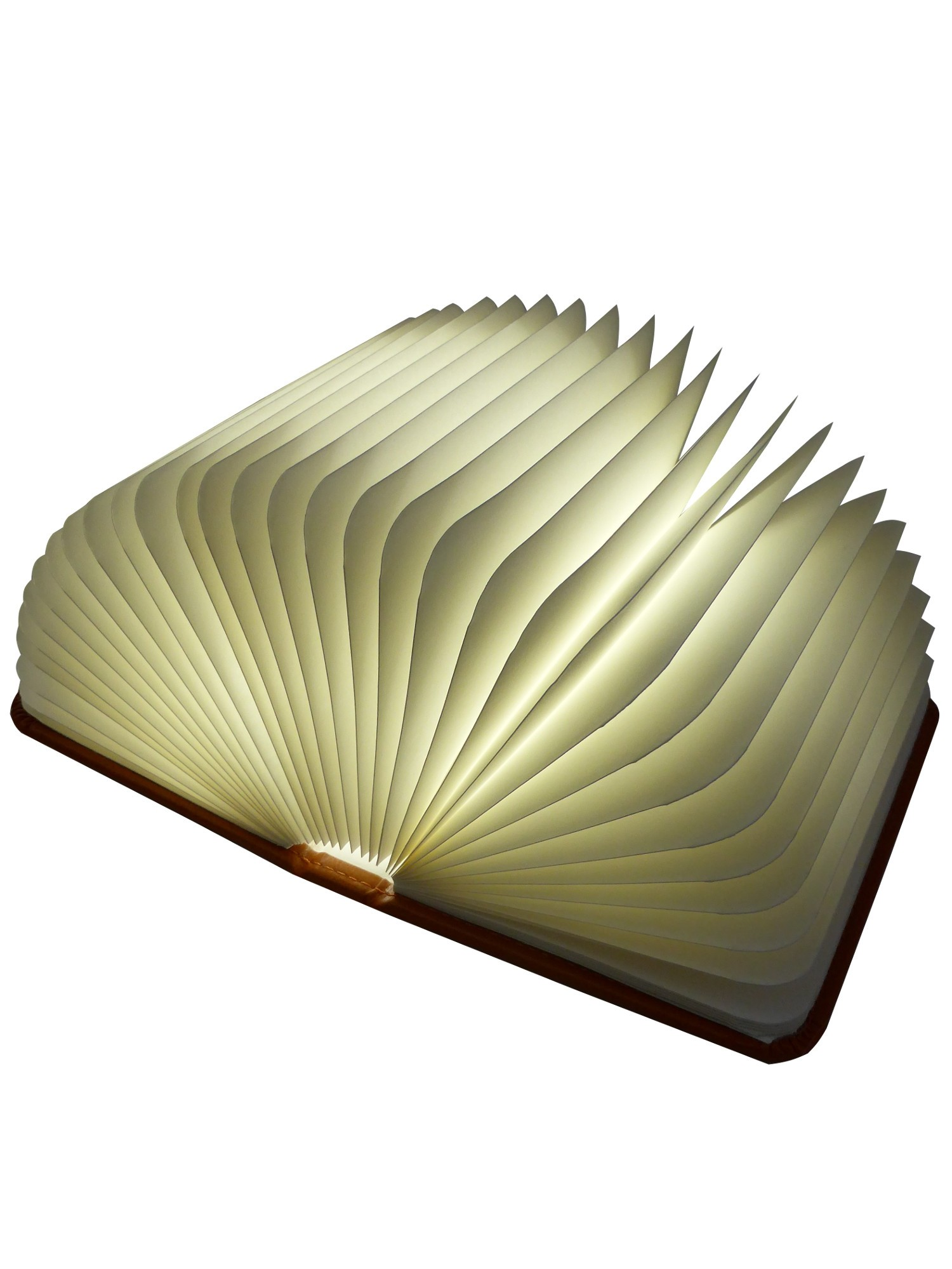 originelle designerlampe als buch eine bis zu 360 grad faltbares stimmungslicht. Black Bedroom Furniture Sets. Home Design Ideas