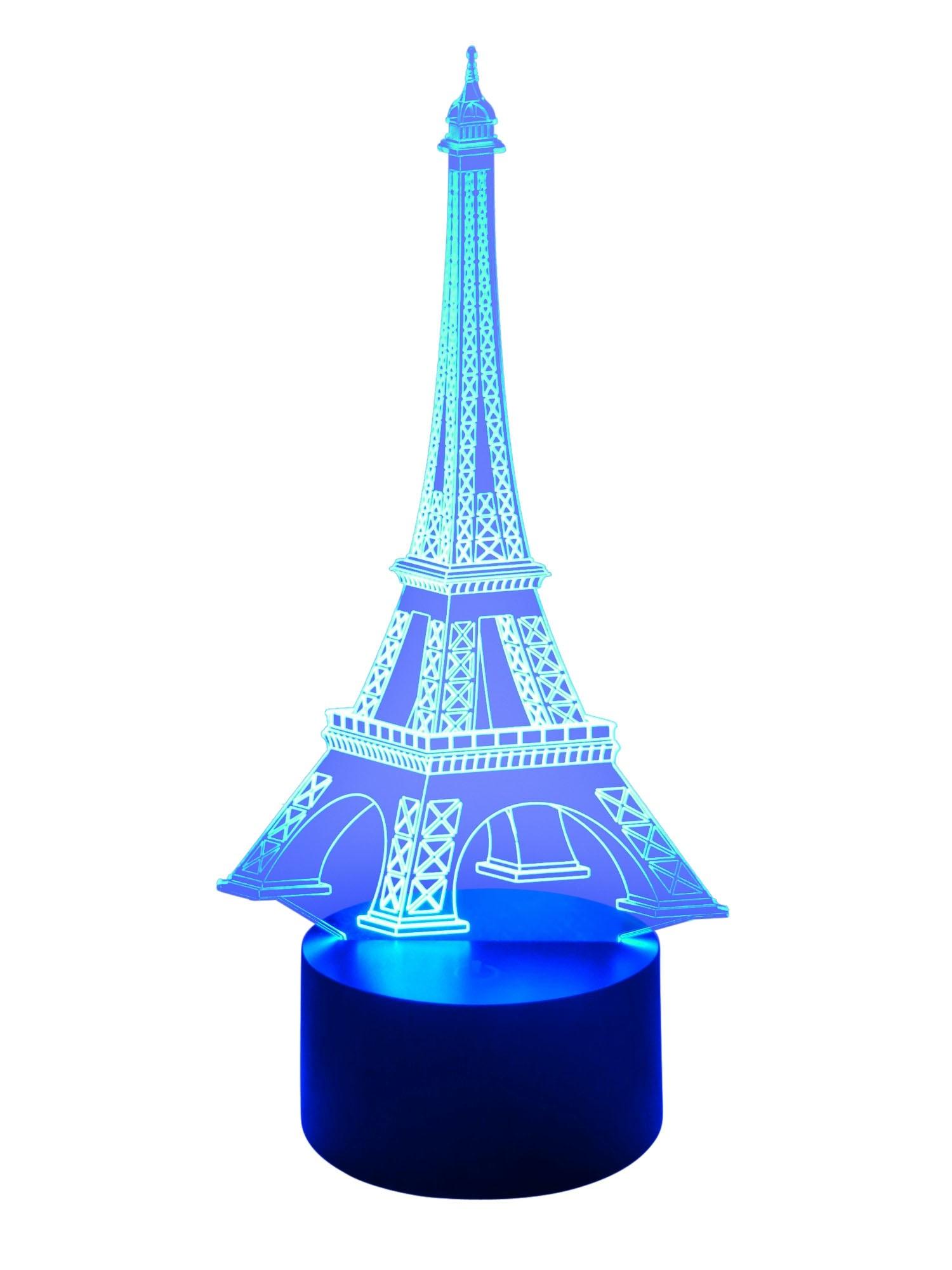 originelle 3D LED-Lampe Farbwechsel Tischlampe Kinderzimmerlampe Wohnlicht Nachttischlampe Tischleuchte