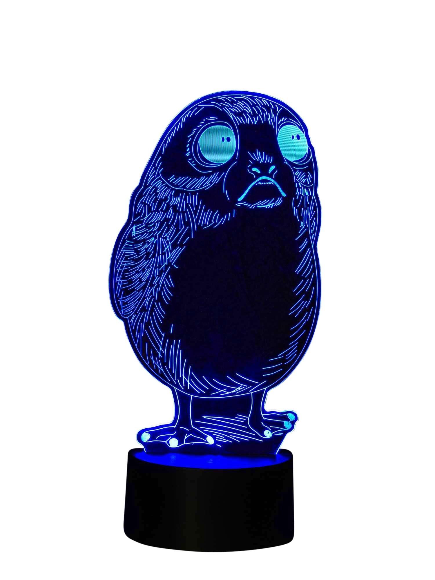 3D LED-Lampe Science Fiction Raumschiff Tischlampe Nachtlicht Nachttischlampe Wohnlicht Tischleuchte Farbwechsel Show-Effekt