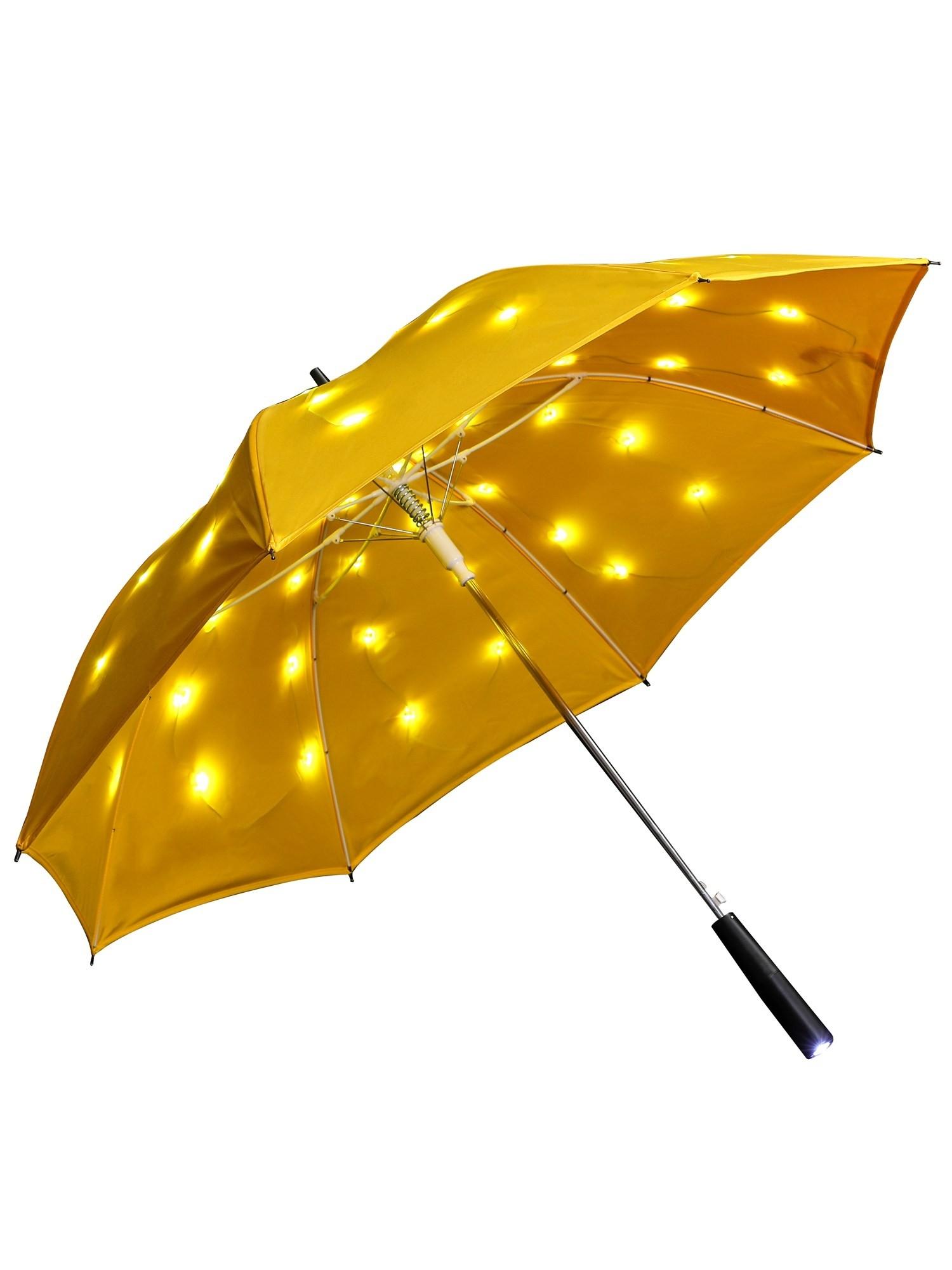 regenschirm mit led leuchte