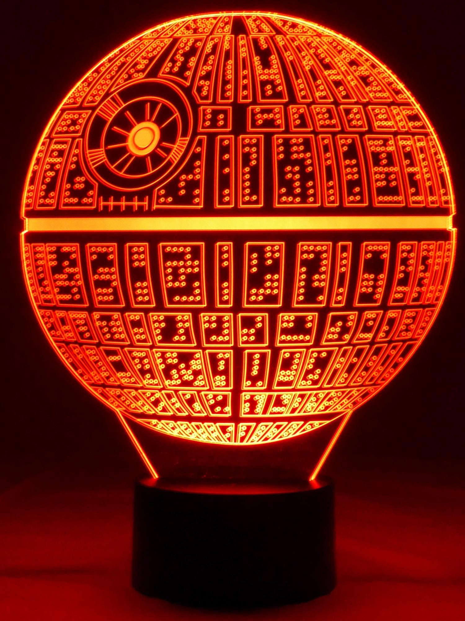 star wars todesstern george lucas - Star Wars Todesstern Lampe