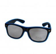 LED Brille mit klaren Gläsern, diverse Leuchtfarben verfügbar