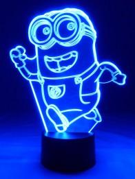 originelle 3D LED-Lampe Comicfigur Wohnlicht Tischleuchte Tischlampe Nachttischlampe Kinderzimmer