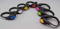 Leuchtender LED Schuhclip Blinkies für Jogging und Freizeit