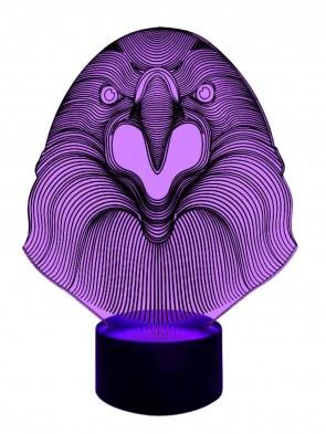 Designer-Lampe Mehrfarben Licht