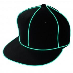 LED-Basecaps mit leuchtenden Streifen als coole Schirmmützen Baseballkappen