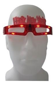 Led Brille für das neue Jahr