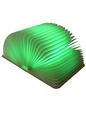 Buchlampe, Leuchtfarbe grün