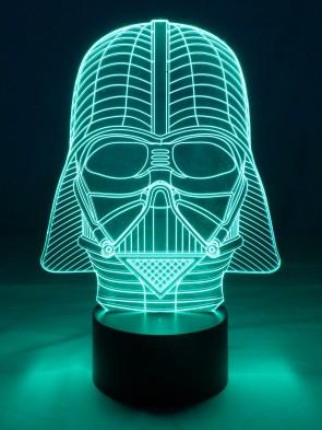 originelle 3D LED-Lampe Darth Vader Nachttischlampe Tischlampe Tischleuchte Wohnlicht Wohnzimmer