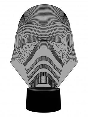 3D Lampe Darth Vader