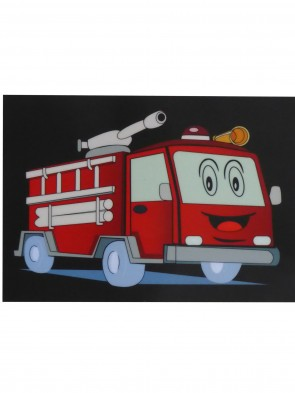 leuchtendes blinkendes T-Shirt Feuerwehr