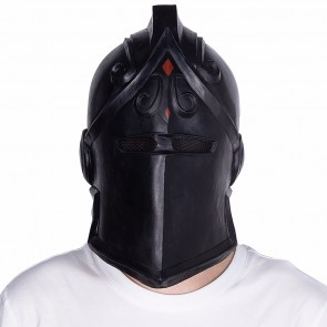 Halloween Maske Forthnite Schwarzer Ritter