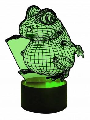 3D Lampe Frog