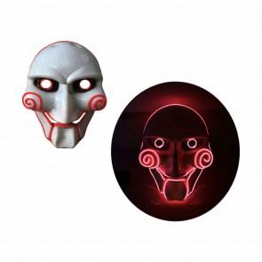 LED Halloween-Maske Jigsaw