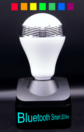 Lampe mit Lautersprecher