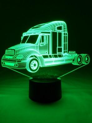 originelle 3D LED-Lampe  Tischlampe Tischleuchte Nachttischlampe Wohnlicht Motivlampe Truck