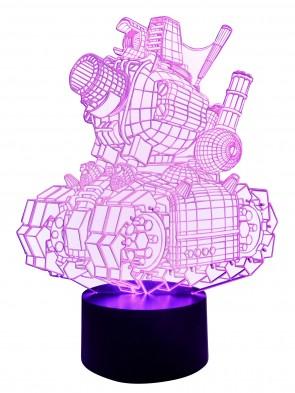 3D-Ledlampe Farbwechsler