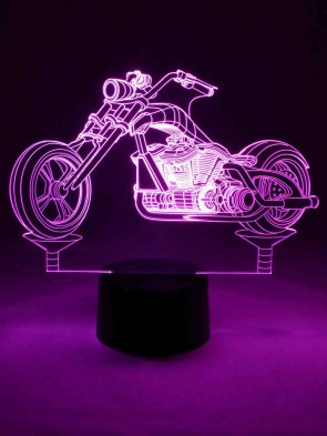 3D Lampe Harley Davidson