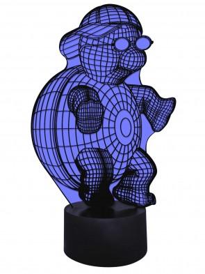3D Lampe Turtle