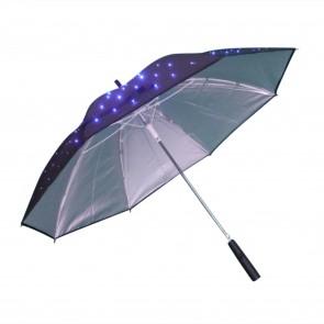 leuchtender Regenschirm