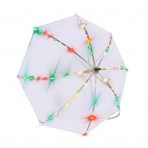 Led Regenschirm Transparent bunt blinkend